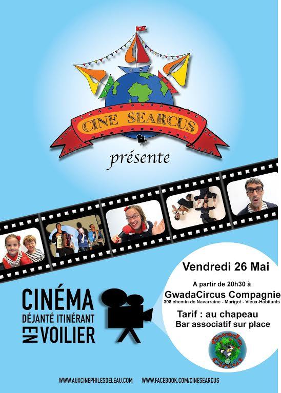 CineSearCus présente son cinéma déjanté itinérant en voilier