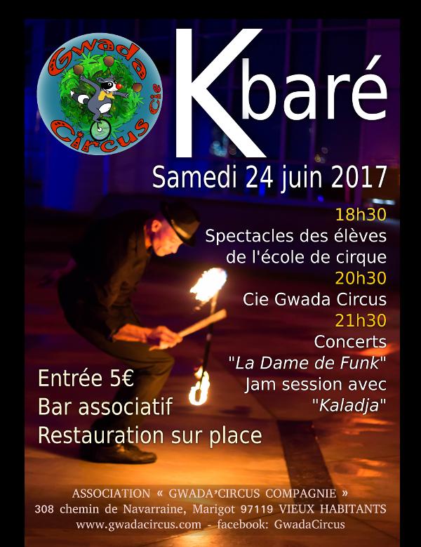 K baré de Gwada Cirque Compagnie Guadeloupe