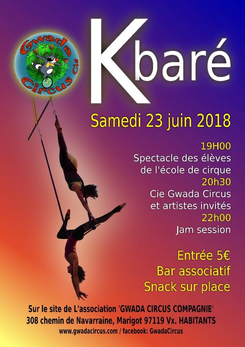 Affiche K baré 2018