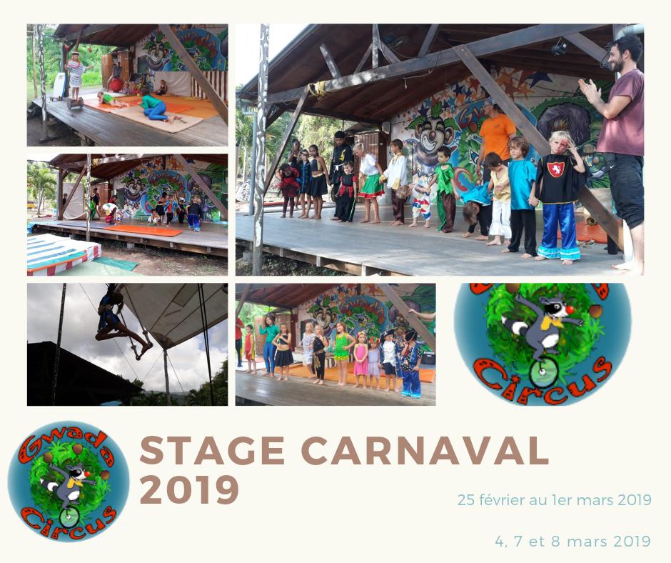 Stage Carnaval 2019 vieux habitants