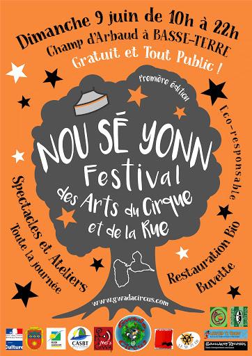 Affiche Festival Nou Sé Yonn Basse Terre 2019